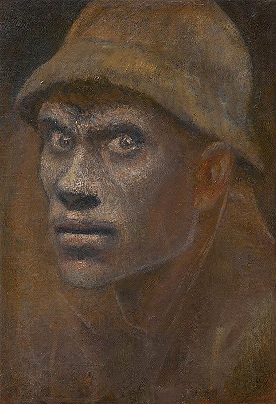 Ladislav Mednyánszky - Hlava tuláka