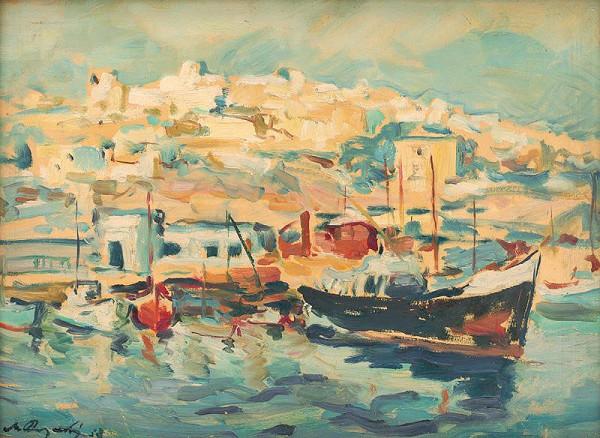 Mikuláš Rogovský – V prístave Pireus
