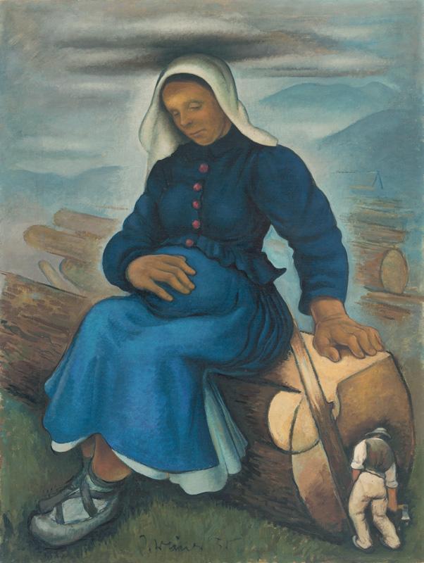 Imrich Weiner-Kráľ – Žena, 1935, Slovenská národná galéria