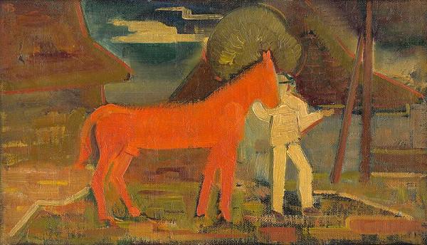 Miloš Alexander Bazovský – Oranžový kôň