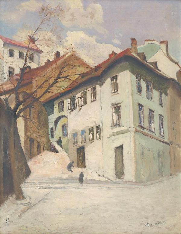 Anton Djuračka – Zámocké schody