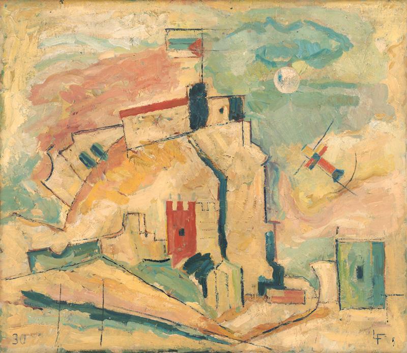 Ľudovít Fulla – Devín, 1935, Slovenská národná galéria