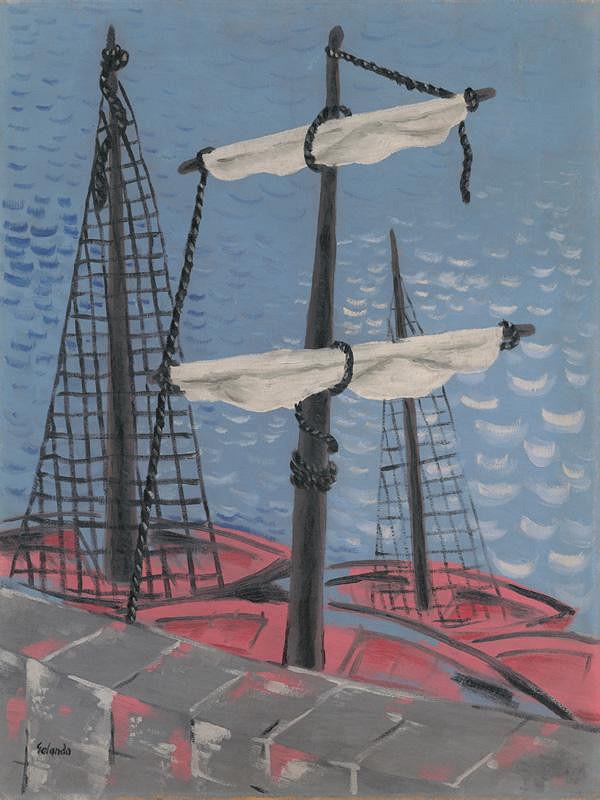 Mikuláš Galanda - Rybárske člnky