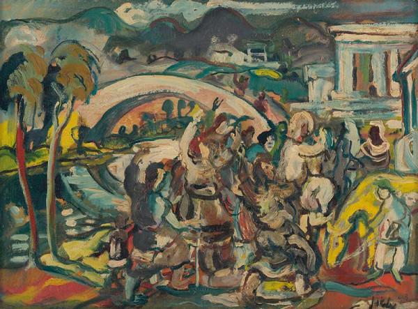 Július Jakoby - Vchod do Jeruzalema