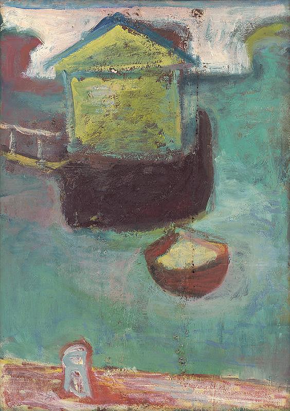 Míťa Kolesárová – Loď na Seine