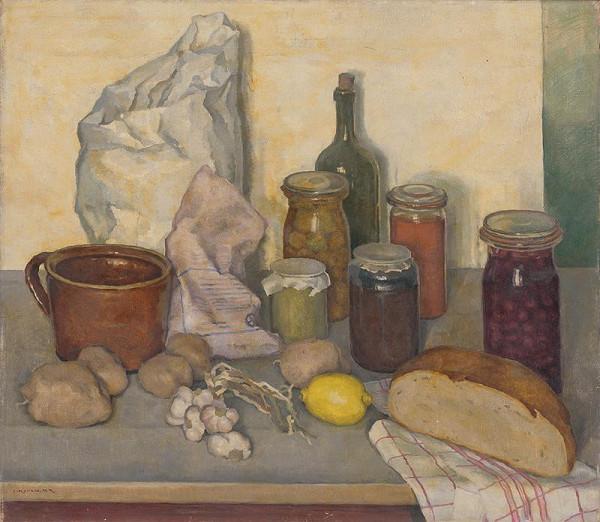 Július Koreszka - Zátišie kuchynské I.