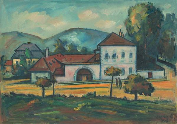 Eugen Lehotský - Staré domy v B.Bystrici