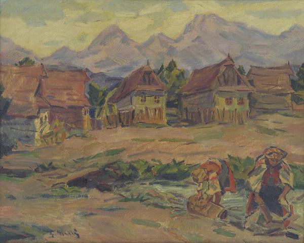 Gustáv Mallý – Na potoku pod Tatrami