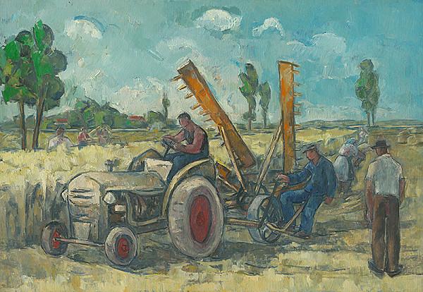Oskar Fikar – Traktorista