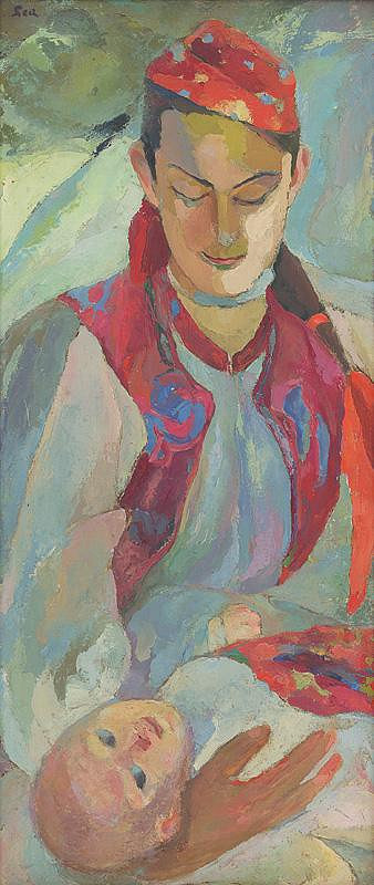 Lea Mrázová – Slovenská matka