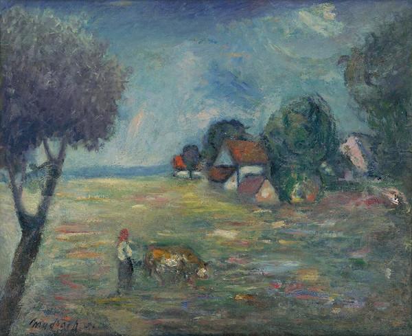 Ján Mudroch – Krajina s pasáčkom