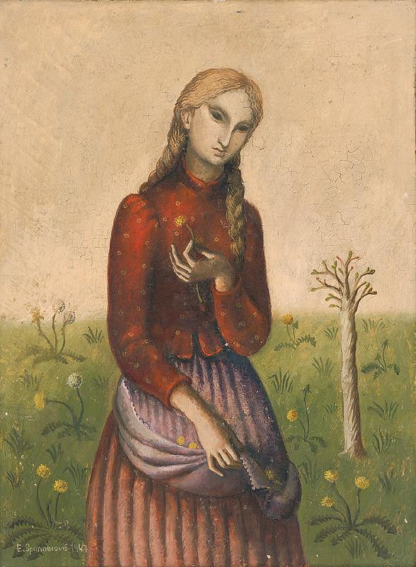 Edita Spannerová – Dievča s púpavou