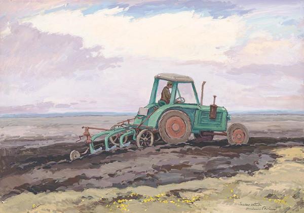 Jaroslav Votruba - Oráč s traktorom