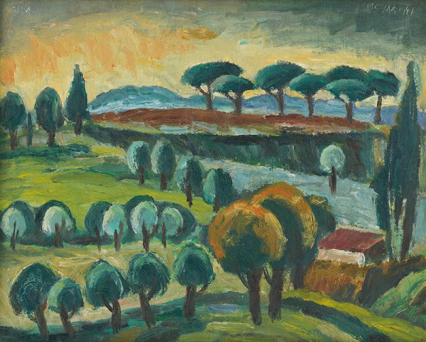 Ernest Zmeták – Talianska krajina