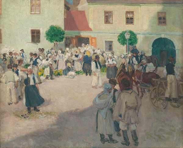 Miloš Jiránek – Trh na Myjave