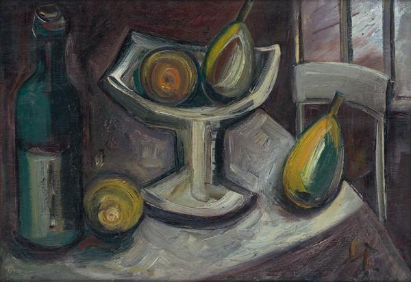 František Studený - Zátišie s citrónom