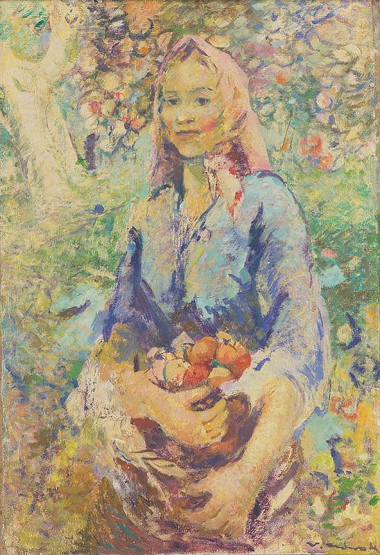 Willi Nowak – Žena v zástere