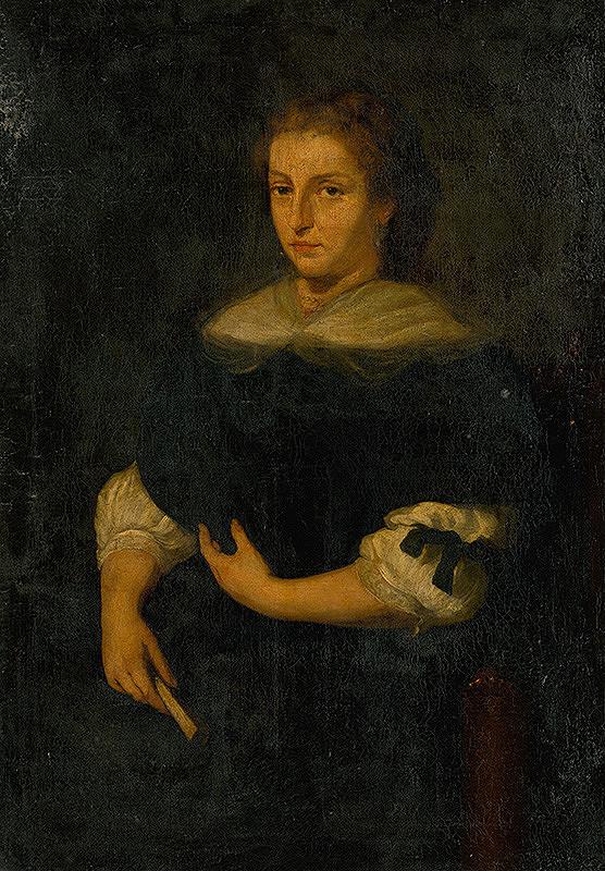Nemecký maliar okolo polovice 19. storočia - Podobizeň ženy