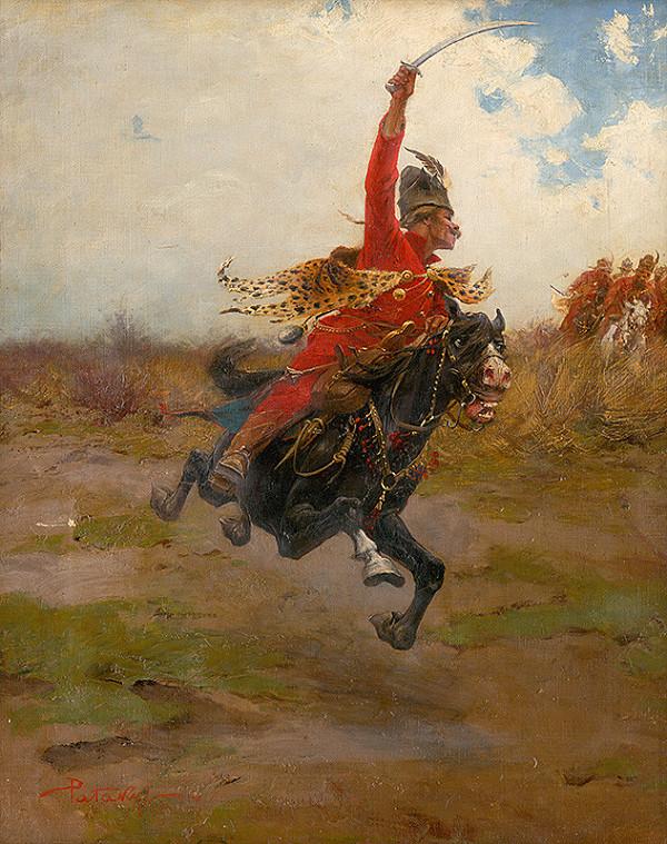Ladislav Pataky – Jazdecká bitka