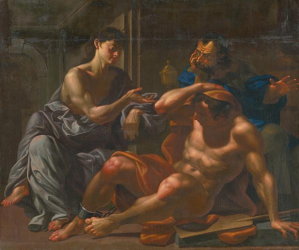 Taliansky maliar z 18. storočia – Samson a Dalila