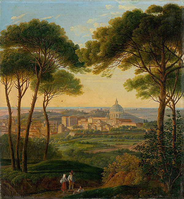 Karol Marko ml. – Pohľad na talianske mesto