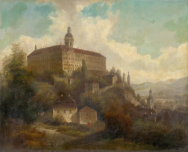 F. W. Jankovský – Krajina so zámkom