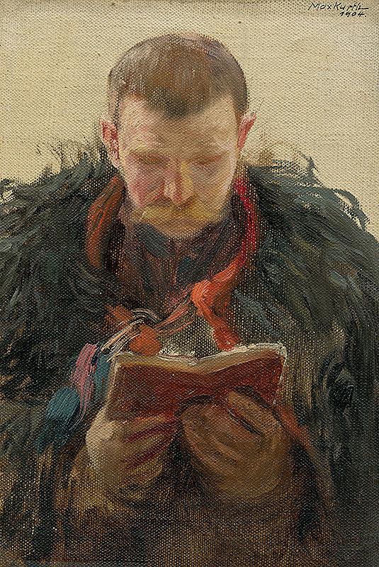 Maximilián Kurth - Štúdia čítajúceho starca