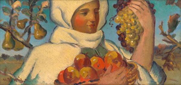 Martin Benka – Žena s ovocím
