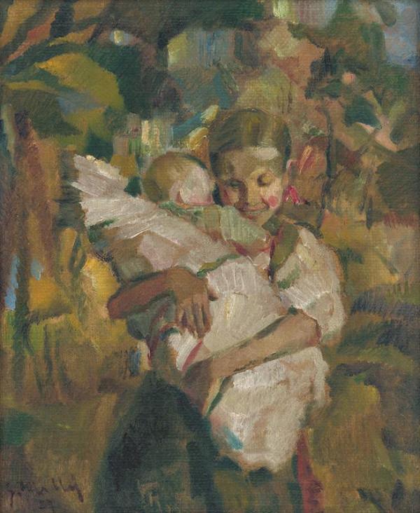 Gustáv Mallý – Malá pestúnka