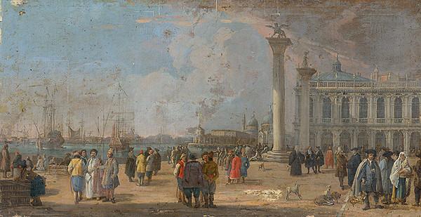 Francesco Fidanza, Taliansky maliar z 2. polovice 18. storočia – Námestie svätého Marka v Benátkach