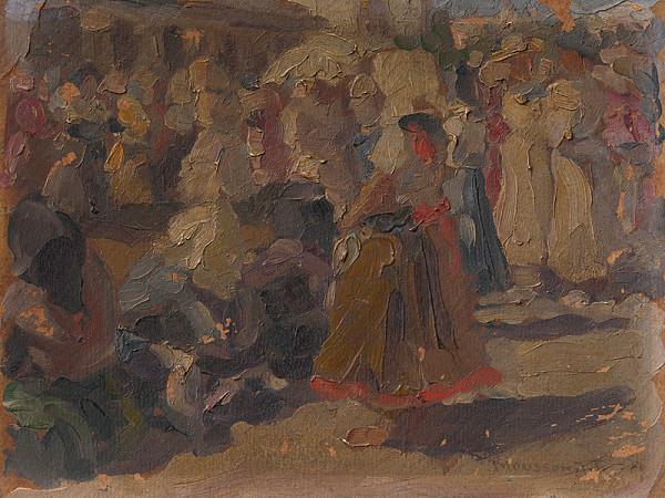 Teodor Jozef Mousson – Jarmok - štúdia