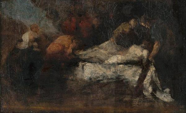 Július Štetka – Kladenie do hrobu