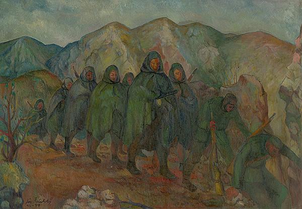 Ján Želibský - Ústup do hôr