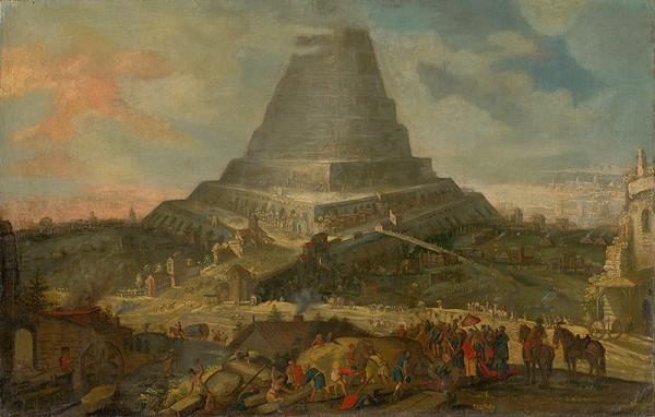Nizozemský maliar zo 17. storočia, Holandský maliar zo 17. storočia – Babylonská veža