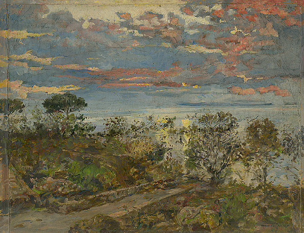 Stredoeurópsky maliar zo začiatku 20. storočia – Krajina so stromami