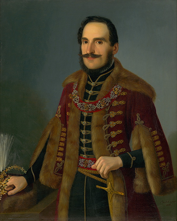 Jozef Božetech Klemens – Podobizeň Antala Rocha