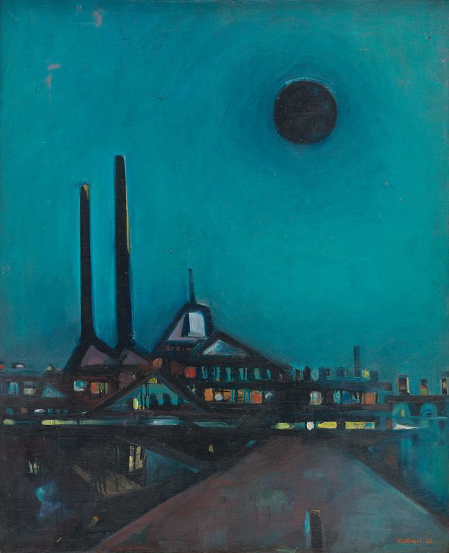 Viliam Chmel - Čierny mesiac, 1948, Slovenská národná galéria