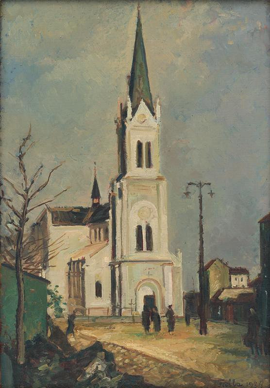 Ľudovít Fulla – Blumentálsky kostol