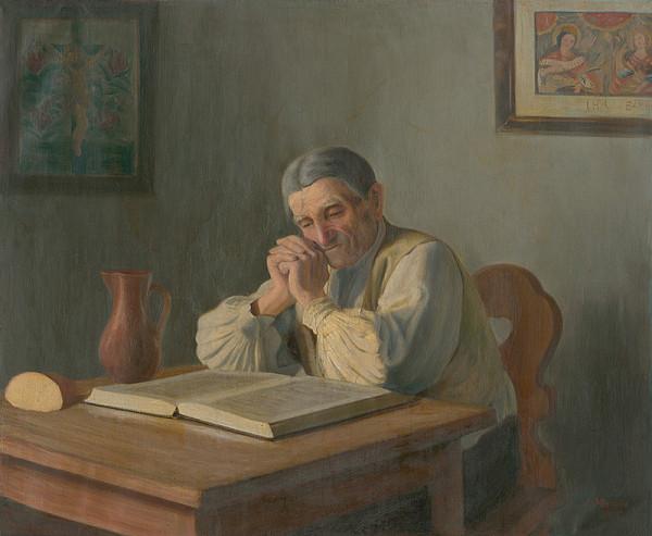 Jiří Mandel – Sedliak nad knihou