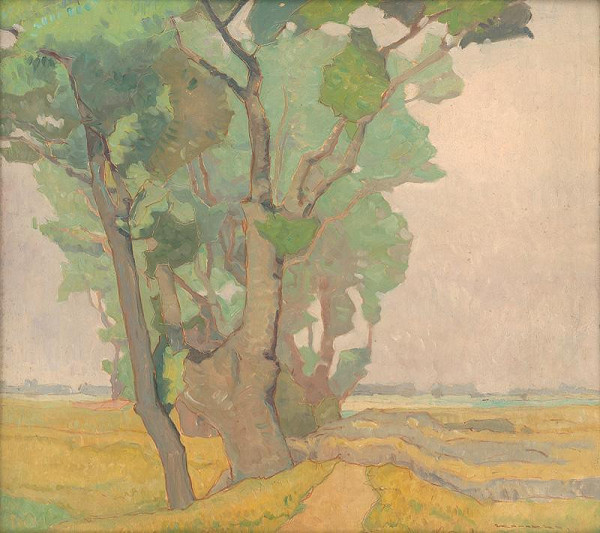 Július Koreszka - Krajina s dubom