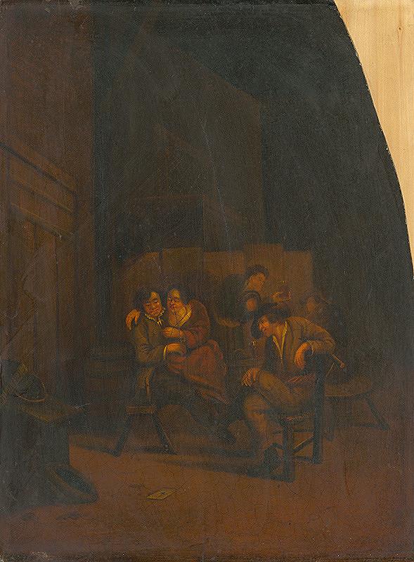 Cornelis Bega, Richard Brakenburg – Popíjanie v pivnici