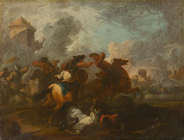 August Querfurt – Jazdecká bitka I.