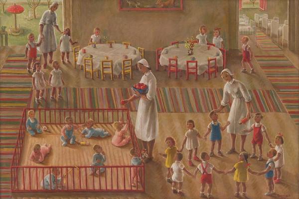 Edita Spannerová – V detských jasliach