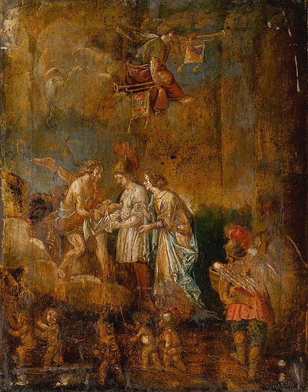 Stredoeurópsky maliar z 19. storočia – Nájdenie Mojžiša