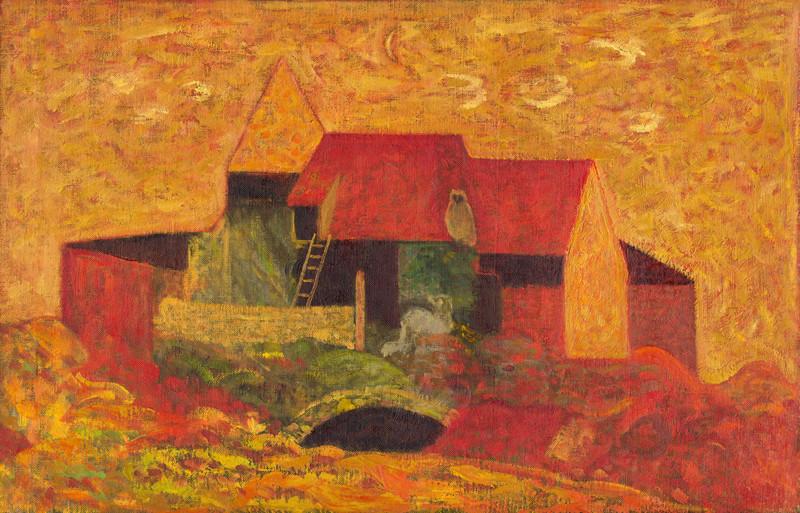 Miloš Alexander Bazovský – Samota, 1957, Slovenská národná galéria