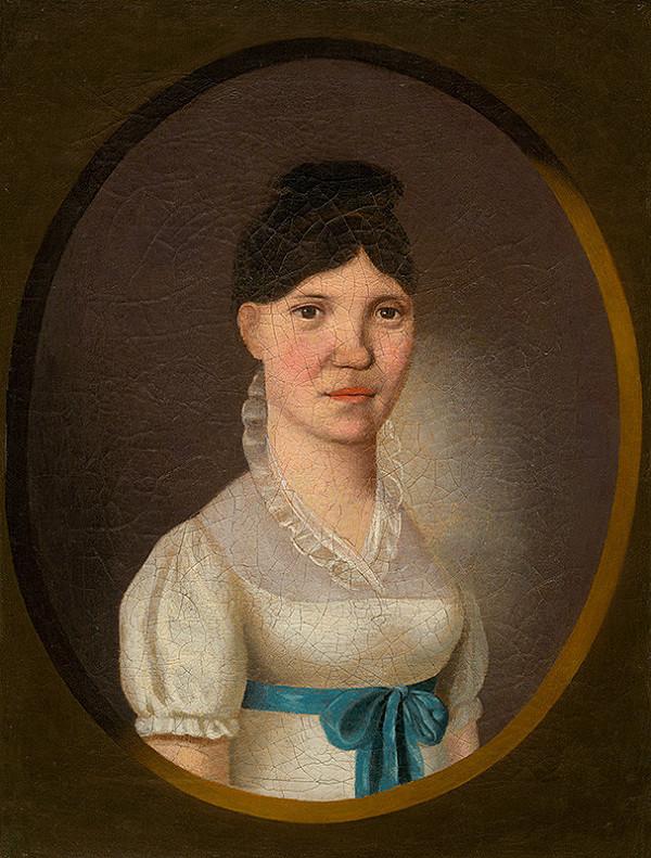 Jozef Czauczik - Podobizeň mladej ženy v bielom šate