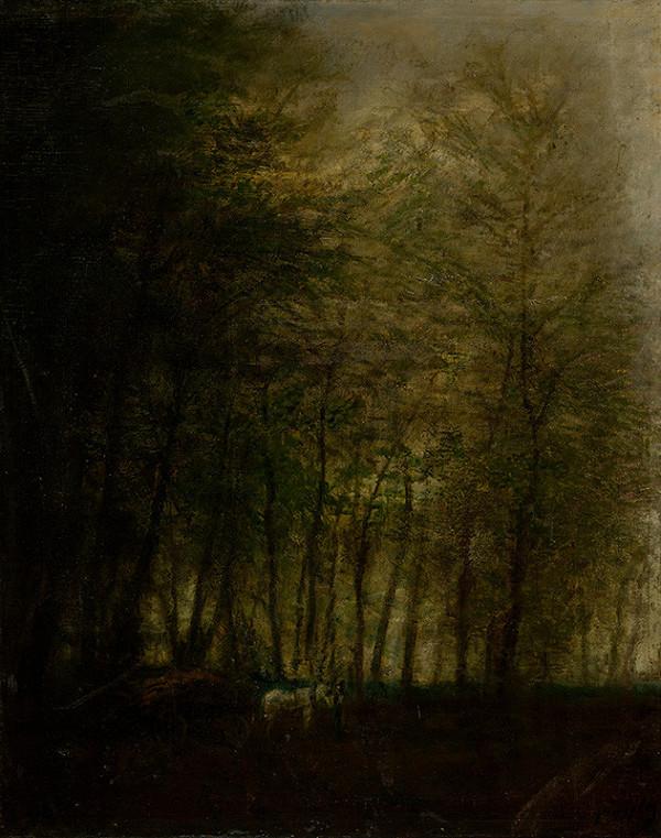 Ladislav Mednyánszky – Povoz v lese