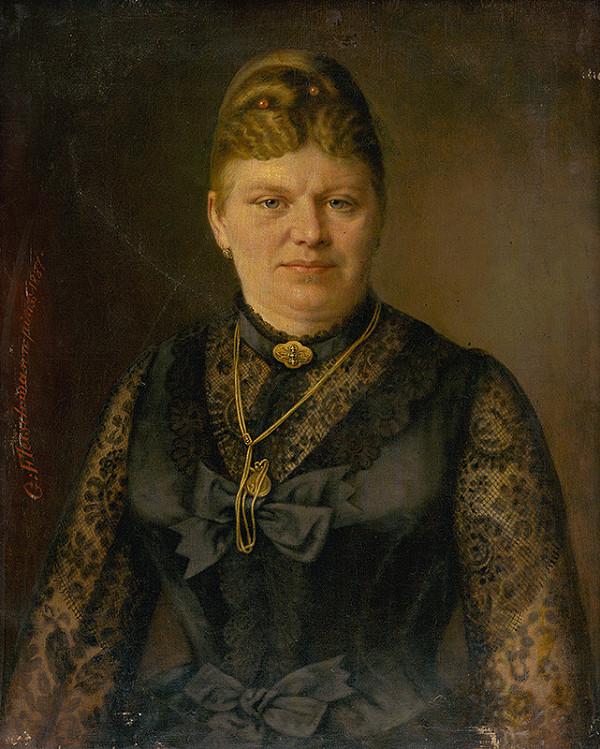 Georg Fleischmann – Podobizeň ženy