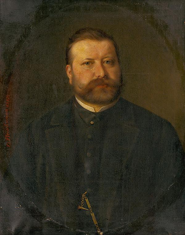Georg Fleischmann - Podobizeň muža