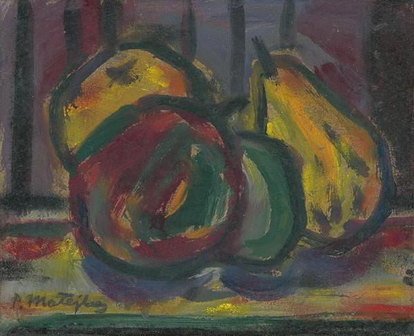 Peter Matejka - Zátišie s jabľčkami